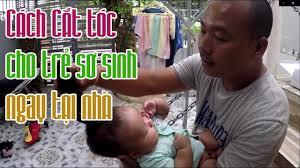 Cách cắt tóc cho em bé sơ sinh bằng tông đơ - ( How to trim newborn baby  hair ) | Em bé sơ sinh, Em bé, Tóc