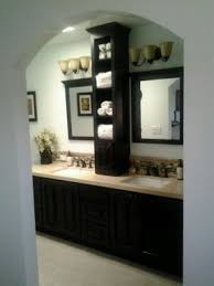 bathroom counter storage tower. from 70s bathroom to spa retreat counter storage tower foter