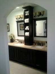 Bathroom counter storage tower