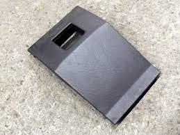 fuse box cover mazda mx 5 mk2 under dashboard black nc1055551a02 used