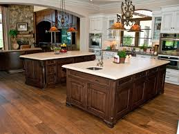 Walnut Kitchen Hardwood Flooring For Kitchen American Walnut Material Dark Brown