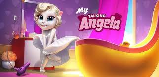 دانلود My Talking Angela برای اندروید مود شده