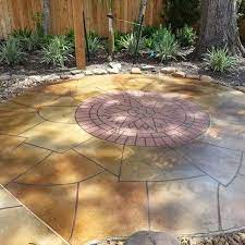 2018 stamped concrete patio cost