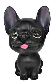 french bulldog bobble head action relaxation mini toy for car home office walmart
