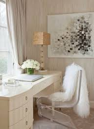white faux fur chair covers