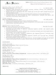 Sample Resume For Legal Assistant Legal Assistant Sample Resume ...