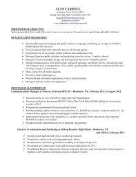 Communications Specialist Resume Resume Badak