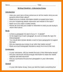 essay writing checklist co essay writing checklist