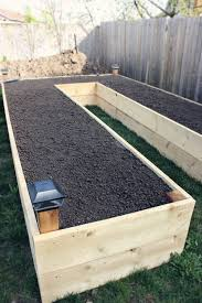 flower bed lighting. project grow our own food raised garden bed reveal flower lighting