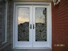 white double front door. Double Front Entry Doors Exterior White Simple Door . S