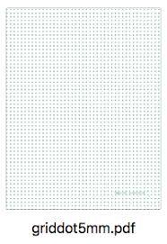 5mm Graph Paper Download 5mm Dot Grid Paper Printable Lifehacklets