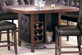 wine rack dining table. Beautiful Dining Dining Room Table With Wine Rack  Cabinet Bistro And Wine Rack Dining Table R