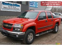 Colorado chevy colorado 2008 : 2008 Chevrolet Colorado LT Crew Cab 4x4 in Inferno Orange Metallic ...