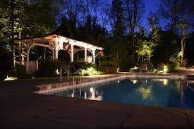 pool deck lighting ideas. Uplighting Pool Deck Lighting Ideas