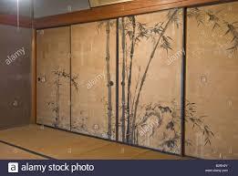 painted closet doors. Sliding Closet Doors Painted With Reproducing Bamboo Garden S
