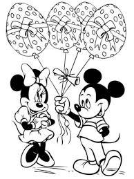 Immagini Di Disegni Da Colorare Minnie E Topolino Sposi