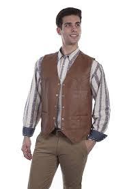 scully men s leather vest 507 15