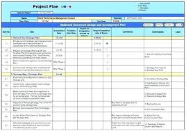 Free Project Plan Template Excel Simple Project Management Plan Template Word Excel Templates Free