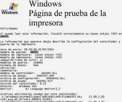 Small Picture How to print a test sheet on windows OS enRellenado
