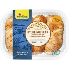 Företaget är sveriges ledande kycklingproducent och har ett brett sortiment utav både kylda och frysta produkter. Tillagningsinstruktion Kronfagel Kycklingsteak Kantarell Ca 850g