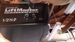 travel limits liftmaster chamberlain craftsman adjust you and liftmaster garage door opener manual1 3 hp