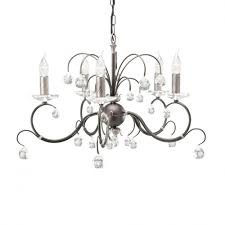 black chandelier lighting photo 5. elstead lighting lunetta 5 light black and silver chandelier photo