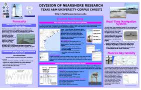 Tide Chart For Corpus Christi Texas Dnr Poster Division Of Nearshore Research