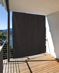 Vertikaler Sonnenschutz Windschutz Sichtschutz Balkon Terrasse