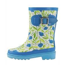Oakiwear Rain Boots Size Chart Shop Oakiwear Kids Sweet Blueberries Buckle Rubber Size 5