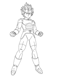 Check out 20 dragon ball z coloring pages to print featuring characters in different poses below. Printable Vegeta Coloring Pages Anime Coloring Pages