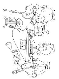 Music Instrument Coloring Pages Musical Instruments Musical
