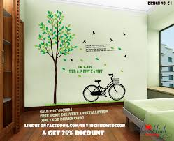 office decoration wood glass plastic paint wall sticker