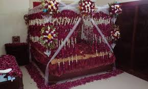 Room Decoration For Wedding Night With Lights Pin By Talha Akram On Bedroom Wedding Room Decorations