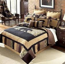 38 best hunting quilt ideas images on Pinterest | Easy quilts ... & The Camo Bear Quilt Collection is a blend of modern day quilting technics  with a rustic Adamdwight.com