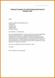 Employment Confirmation Letter Template Doc Employment Verification