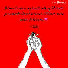 Quotes About The Heart Fascinating I Love It When My Heart R Quotes Writings By Farhana Fana