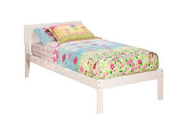 Orlando Bedroom Furniture Orlando Platform Bed Open Footrail White Beds Af Ar8121002 1