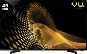 vu 49 inch 124cm full hd led tv online at best prices in vu 124cm 49 inch full hd led tv