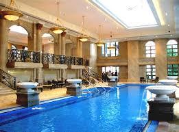 home indoor pool with bar. Fine Pool Amazing Home Indoor Pool With Bar And Great Lighting For