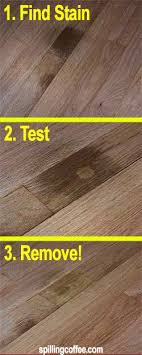how to clean pet urine stains from wood floors