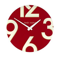 Small Picture 20 best Red kitchen wall clocks images on Pinterest Kitchen wall