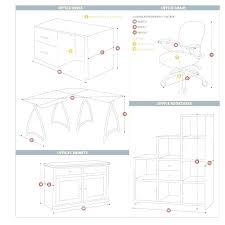 standard desk height office desk dimensions