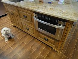 Wood Tile Floor Kitchen Who Loves Their Porcelain Wood Floor Tile