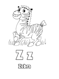 animal letters z