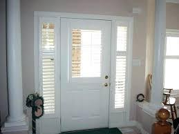 side light shades front door window treatments brilliant sidelight roman ideas blinds