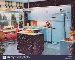 1950 Kitchen Furniture 1950s Kitchen Stock Photo Royalty Free Image 90840919 Alamy