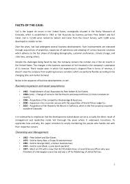 Vail Resorts Organizational Chart 01 Case Analysis On Vail Resorts Inc Business Policy And