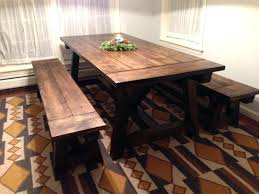 farmhouse dining room set. Farm Style Dining Room Sets Farmhouse Table Trestle Round Kitchen Set I