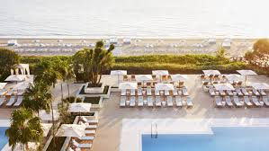 two outdoor pools offer options for s only and families both with views of the atlantic ocean