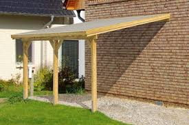 diy timber supported lean to roof kit 7m wide 4m long canopy carport